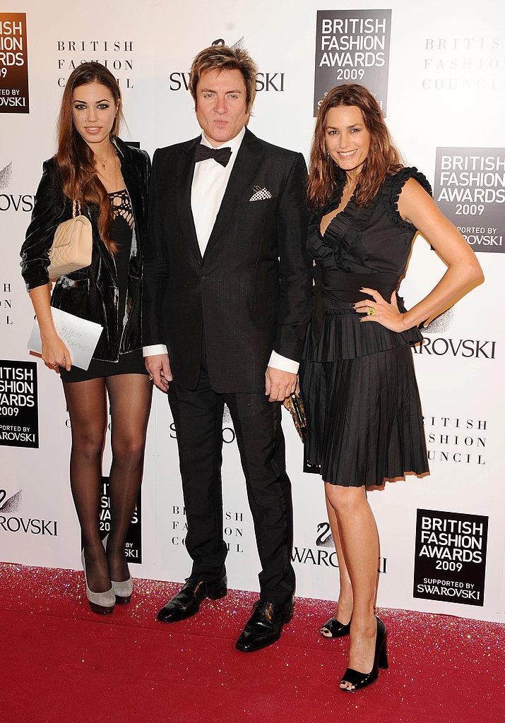 Amber Le Bon, Simon Le Bon, and Yasmin Le Bon