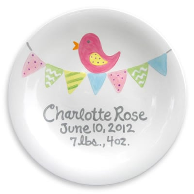 Rosenberry Rooms Tiny Tweet Plate ($40)