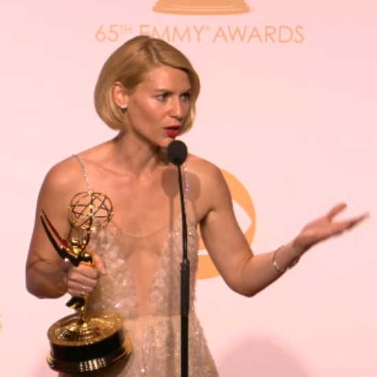 Claire Danes Emmys Backstage Interview | Video