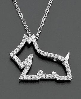 Diamond Dog Pendant