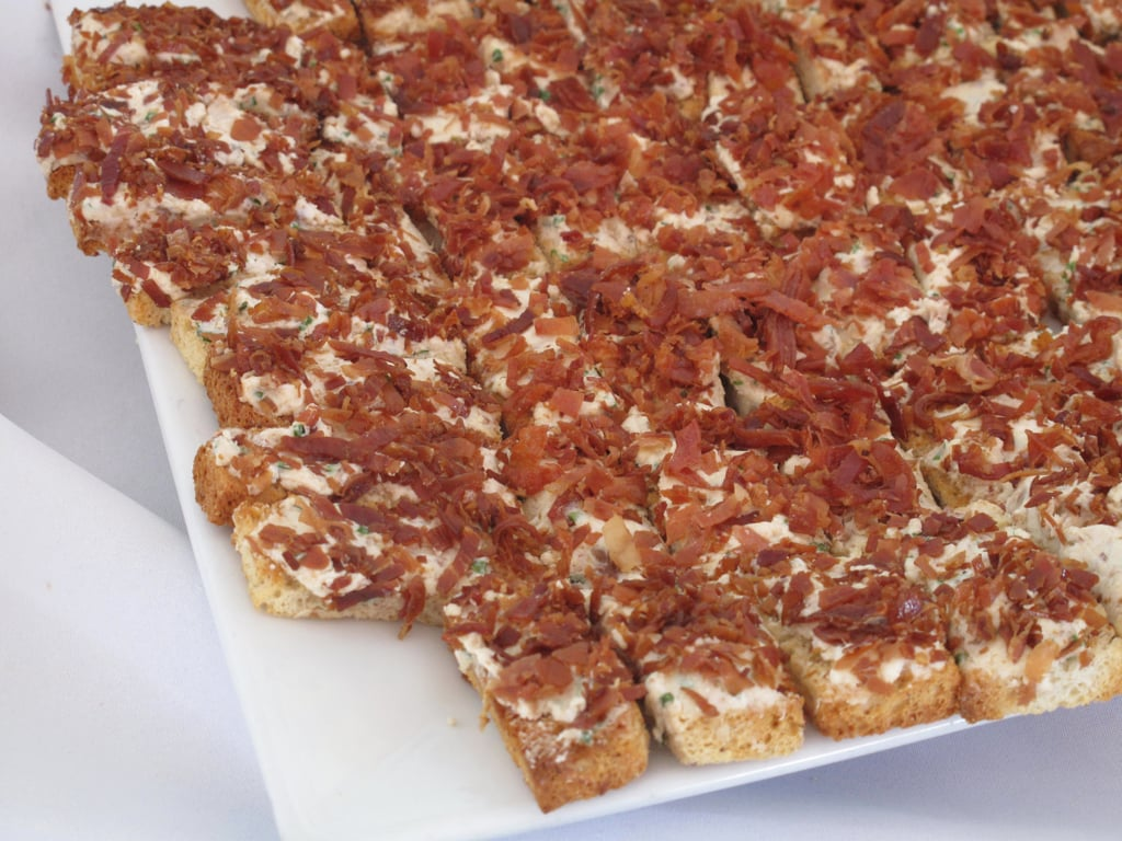 Goat Cheese Toasts With Crispy Prosciutto