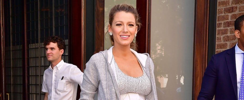 Blake Lively Looks Like She's Ready For the Red Carpet — Until You See Her Jacket