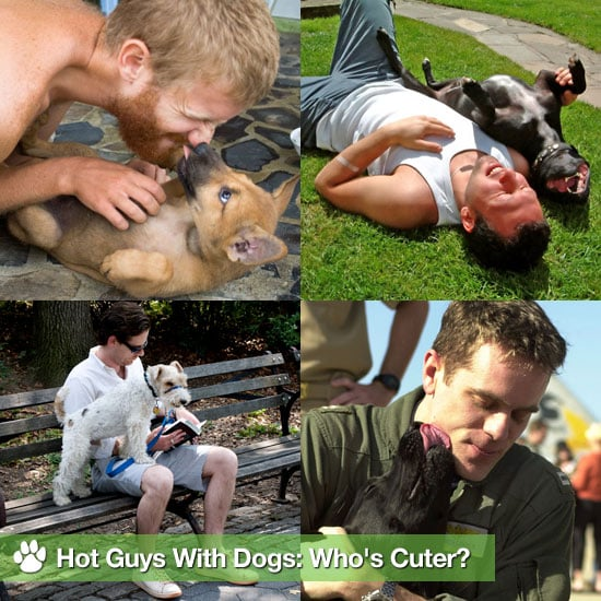 Pictures of Hot Guys With Dogs