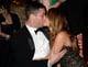Sofia Vergara kissed her fiancé, Nick Loeb, at a Golden Globes afterparty.