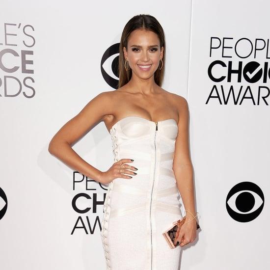 Jessica Alba Dress at People's Choice Awards 2014