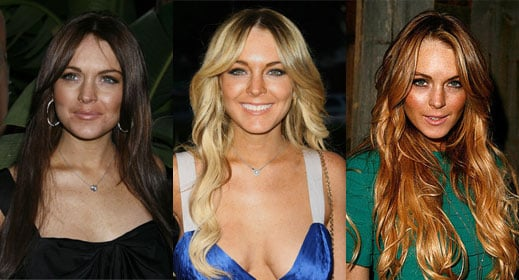 Which Hair Color Looks Best on Lindsay Lohan?