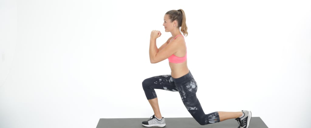 These 5 Simple Moves Combine Cardio, Core, and Booty Work