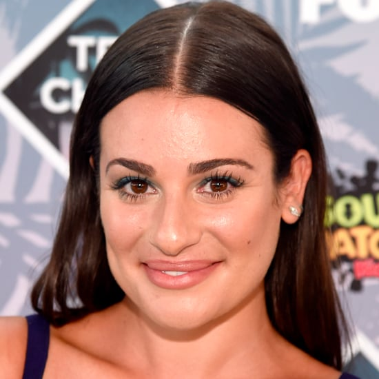 Lea Michele's Hair and Makeup at the 2016 Teen Choice Awards