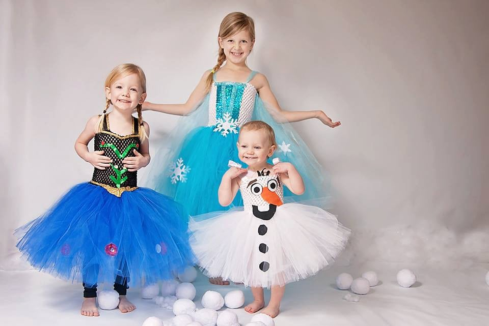 Whether your child wants to dress up as Olaf ($45), Princess Anna ($60), or Queen Elsa ($55), they're sure to look adorable in these handmade outfits!