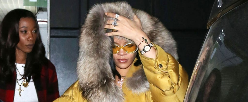 """Rihanna and Drake Celebrate Their """"Work"""" Video With a Night Out in London"""