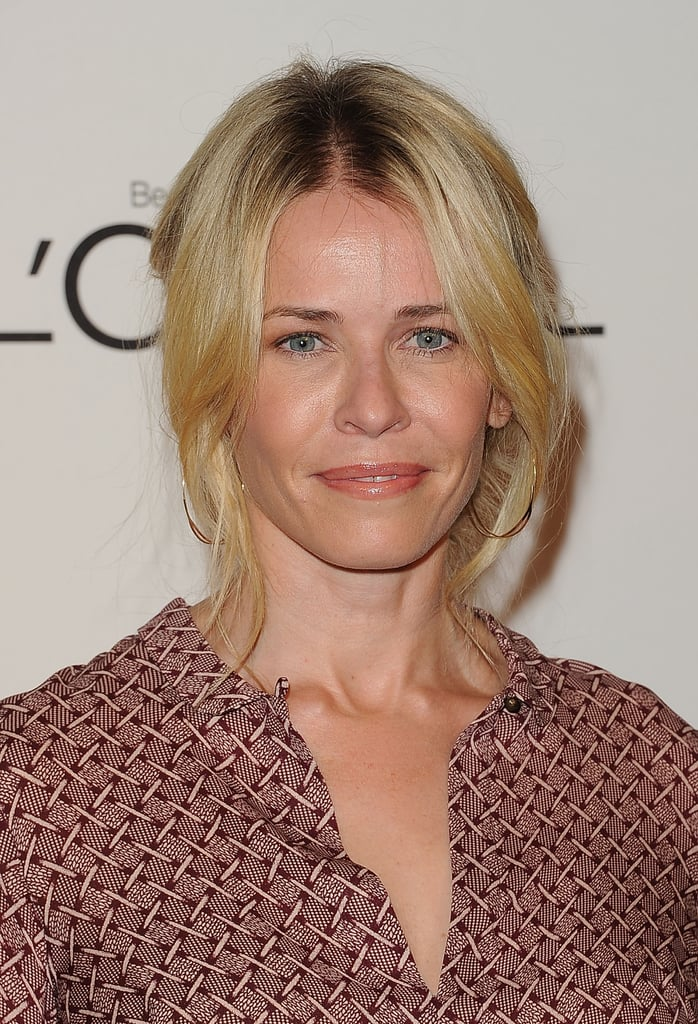 Chelsea Handler came out to honor her best pal, Jennifer Aniston, at an event in LA.