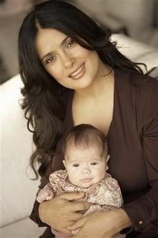 Meet Salma's Little Valentina Paloma Pinault!