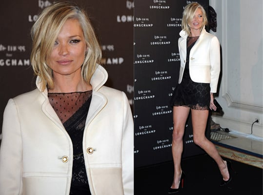Kate Moss at Longchamp party in Paris
