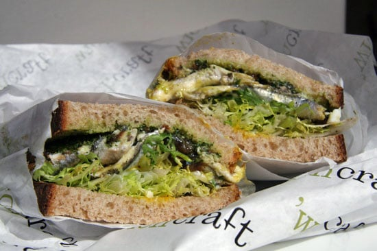 Adventures in Expensive Sandwiches: 'Wichcraft Anchovy