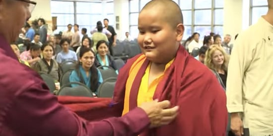 Meet The Fourth-Grader Recognized As A Reincarnation Of A Buddhist Lama