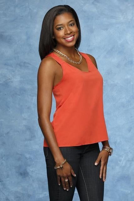 Chantel  Age: 27 Occupation: Account manager Hometown: Miami, FL First Impression: She looks wholesome! I'm rooting for her.