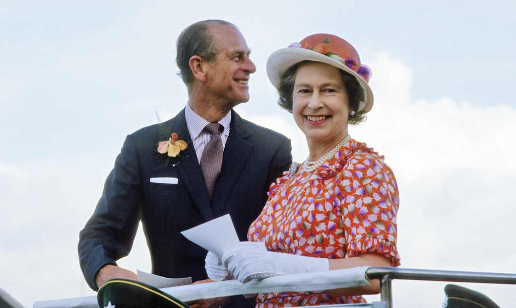 It was all smiles for Queen Elizabeth and her husband during the Silver Jubilee Tour in 1977.