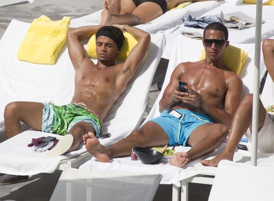 Pictures of JLS Aston Merrygold, Marvin Humes and JB Gill Shirtless in Miami