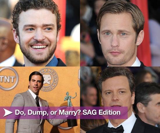Do, Dump, or Marry? SAG Edition