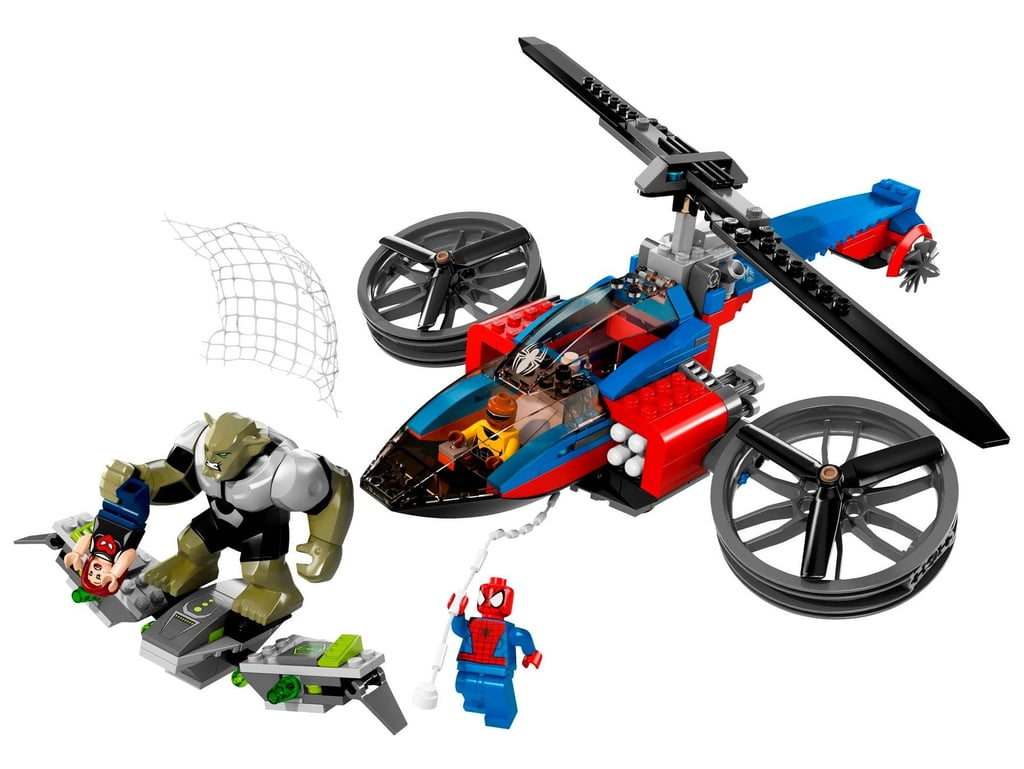 Lego Spider-Helicopter Rescue