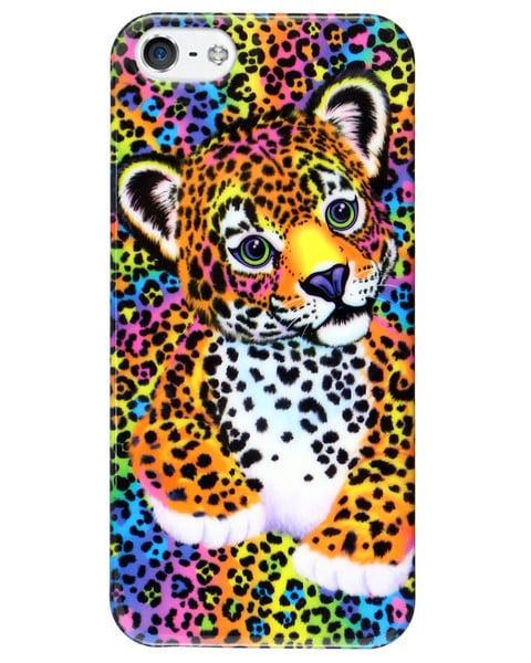 Lisa Frank Leopard iPhone Case