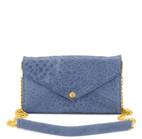 This dressed-up minipouch will be just the thing for toting your essentials, even when you're done up for a fancy dinner out.  Rebecca Minkoff Wallet on a Chain ($195)