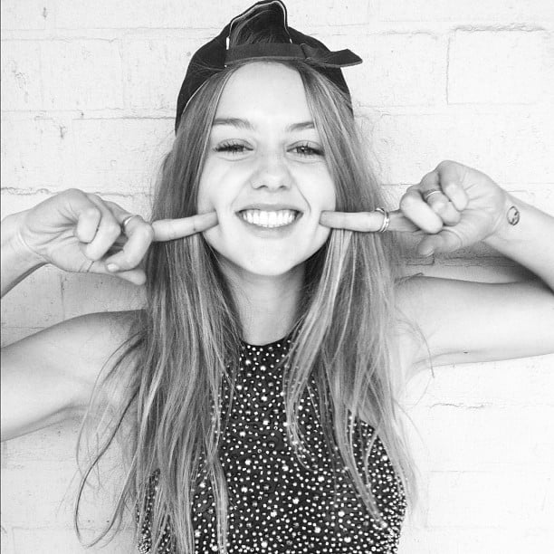 Could actress Isabelle Cornish get any cuter? Source: Instagram user isabellecornishh