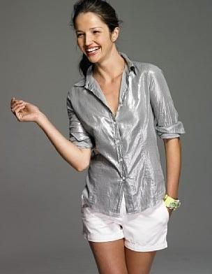 J. Crew Whisper Lamé Shirt: Love It or Hate It?