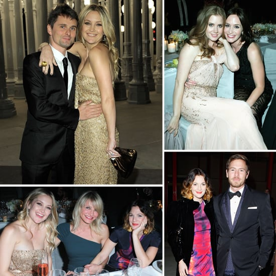 Kate Hudson and Reese Witherspoon Meet Up With Cameron Diaz and Drew Barrymore Inside LACMA's Bash