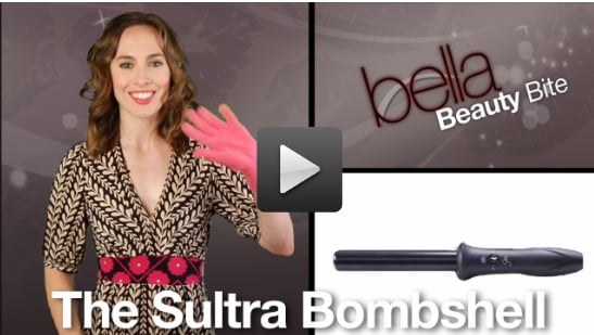 Sugar Shout Out: See a Clampless Curling Iron in Action