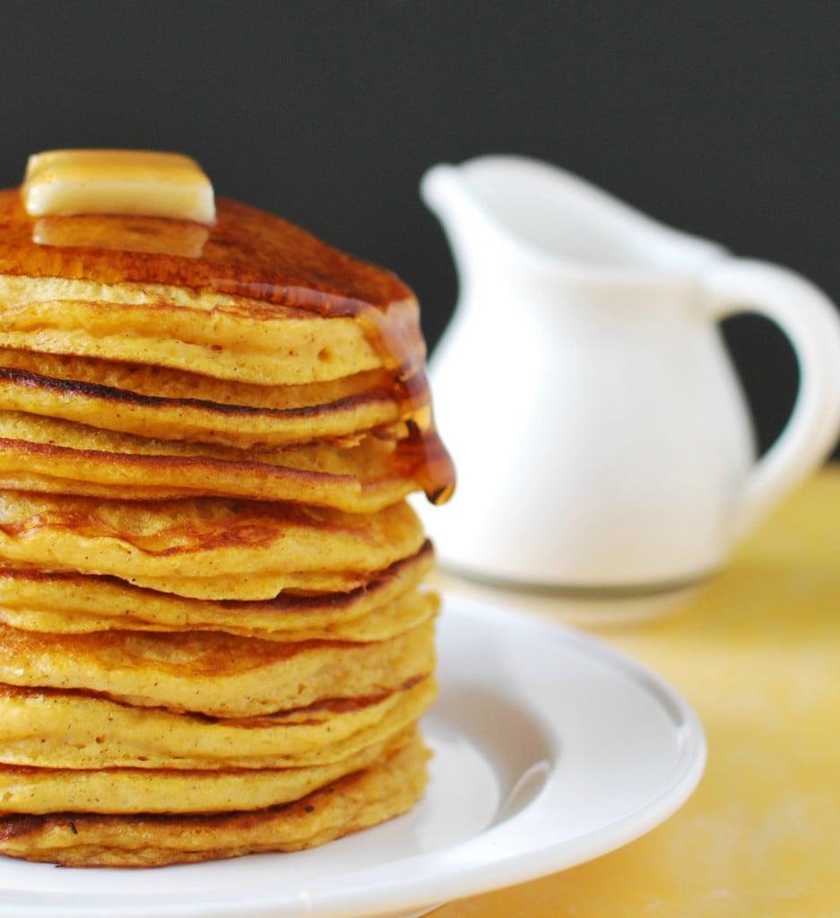 Pumpkin Buttermilk Pancakes