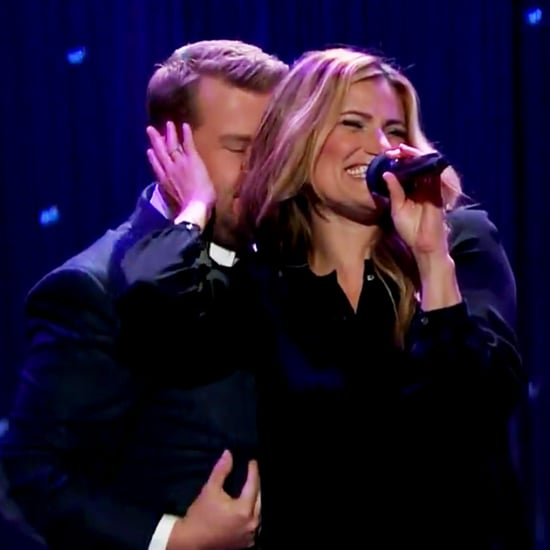Idina Menzel and James Corden Sing Dirty Dancing Song