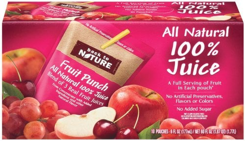 Back to Nature Fruit Punch