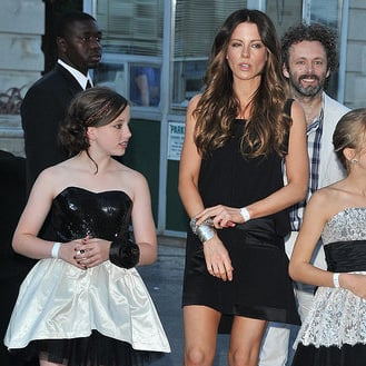 Michael Sheen and Kate Beckinsale Pictures With Lily Sheen at Harry Potter
