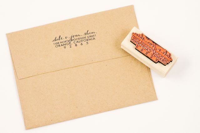 This year, it's time for me to start sending my handwritten notes with a bit more pizzazz. Enter this Ampersandity Custom Calligraphy Address Stamp ($36), which fuses my love of cool typography and subtle craftiness. I absolutely love the font, and I think it'll be a nice surprise for my friends to see in their mailbox. — Brittney Stephens, assistant editor