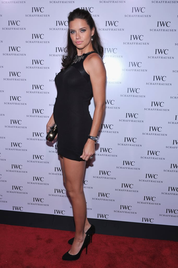 Adriana Lima attended an event in NYC.