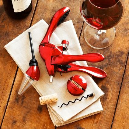 Rabbit Corkscrew and Aerator Gift Set