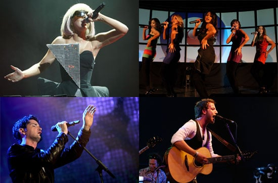 Which Take That Circus Tour Support Act Would You Most Like To See Live — Lady GaGa, The Script, James Morrison or The Saturdays