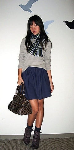 Thanksgiving Look of the Day: Preppy Cool