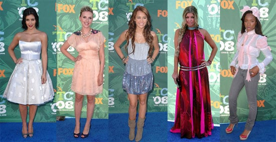 Worst Dressed at the 2008 Teen Choice Awards