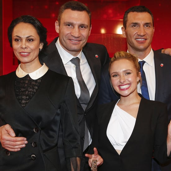 Hayden Panettiere Out With Wladimir Klitschko's Family 2015