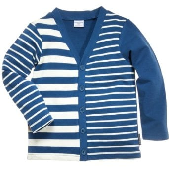 Polarn O. Pyret Stripe Time Cardigan