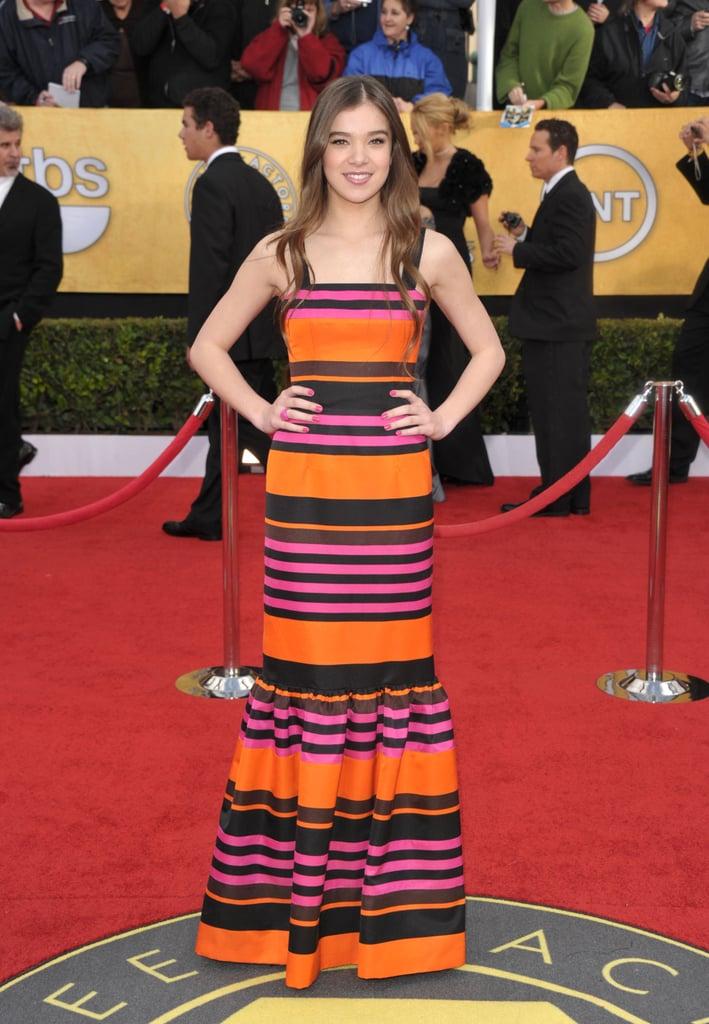 Hailee Steinfeld at the 2011 SAG Awards