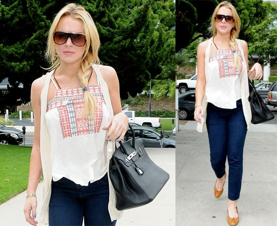 Pictures of Lindsay Lohan in LA