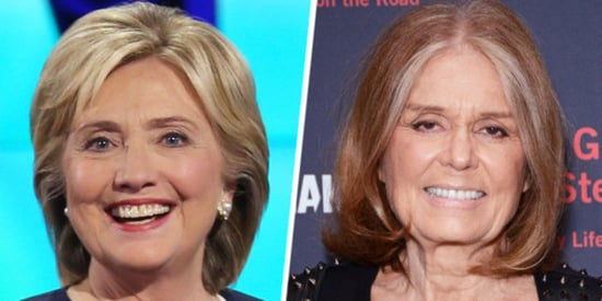 Clinton, Steinem And 'Running As A Woman'