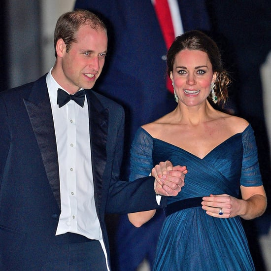Kate Middleton and Prince William at St. Andrews Dinner 2014
