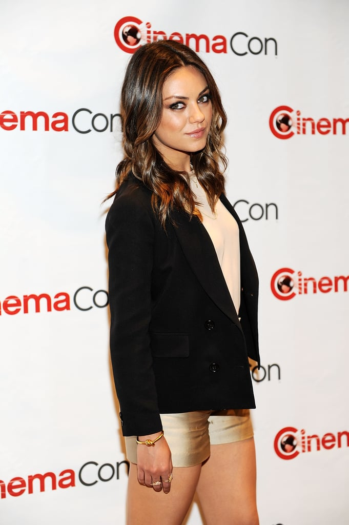 Mila Kunis stepped out for the CinemaCon event in Las Vegas.