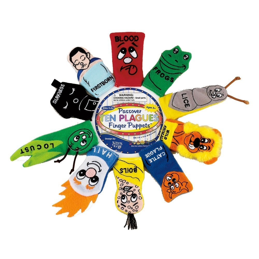 Passover Finger Puppets