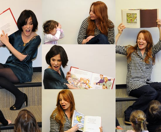 """""""The Return Of Jezebel James"""" stars - Parker Posey And Lauren Ambrose - Host Storytime At A Library In NYC"""