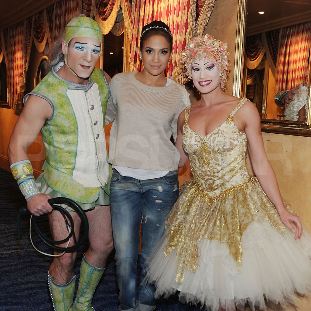 J Lo Sees a Vegas Show With Casper as Idol Has a Disappointing Debut